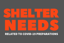 COVID Shelter Needs feature