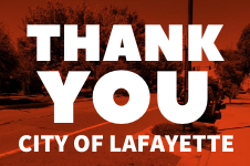 thank you lafayette