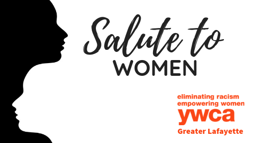 Salute to Women Web Graphic
