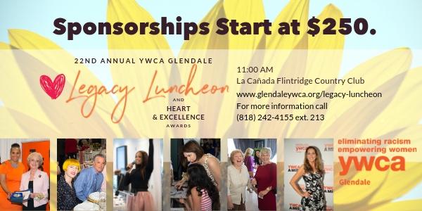 Legacy Luncheon Sponsorships
